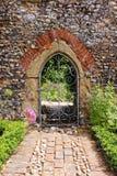 Een Engelse Ommuurde Tuin royalty-vrije stock foto