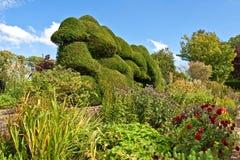 Een Engelse Tuin stock afbeelding