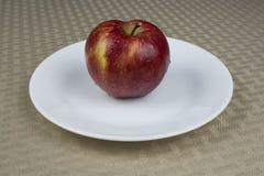 Een enkel appel Stock Afbeelding