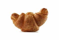 Een enkel croissant. Royalty-vrije Stock Foto's