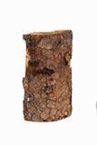 Een enkel stuk van hout stock fotografie