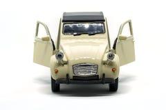 Een epische achterauto van Citroën 2CV Stock Afbeelding