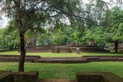 een excursie aan Polonnaruwa, 26 JANUARI 2018 Royalty-vrije Stock Foto