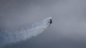Een F16 van de V.S. vechters straalvliegtuig Stock Afbeeldingen