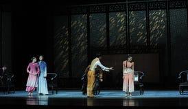 Een familie de vergadering-tweede handeling van de gebeurtenissen van dans drama-Shawan van het verleden Royalty-vrije Stock Foto's
