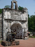 Een Famosa-Fort, Malacca, Maleisië Stock Foto