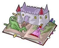 Een fee-verhaal boek Stock Afbeelding