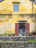 Een fiets in hoi- Stock Fotografie