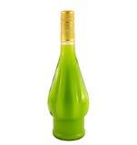Een fles alcoholische drank Stock Foto's