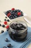 De jam van Bleuberry Royalty-vrije Stock Afbeelding