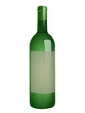 Een fles witte wijn Royalty-vrije Stock Fotografie