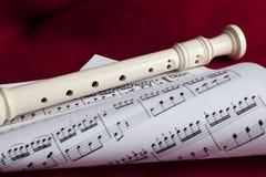 Een fluit Royalty-vrije Stock Fotografie