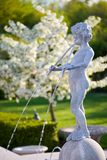 Een fontein van de Cherubijn royalty-vrije stock foto
