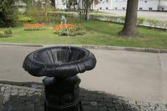 Een fontein van drinkbaar water royalty-vrije stock afbeeldingen
