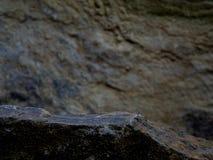 Een Forgeground-Rots voor een Vertoningsplank stock afbeeldingen