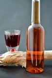 De fles van de likeur royalty-vrije stock foto