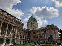 Een foto van het Budai-kasteel royalty-vrije stock foto's
