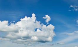 Een foto van wolken Royalty-vrije Stock Foto