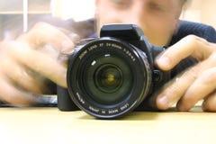 Een fotograaf Stock Afbeeldingen