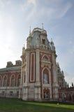 Een fragment van de architectuur van het Grote Paleis moskou Stock Foto