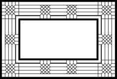 Een frame b/w vector illustratie