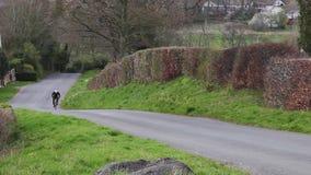 Een 1939 Fraser Nash BMW 328 in Cumbria, Engeland stock video