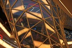Een futuristisch winkelcentrum royalty-vrije stock fotografie