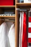 Een garderobe Stock Afbeelding