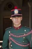Een gardesoldaat van San Marino Republic, Italië Royalty-vrije Stock Foto's