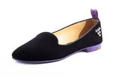 Een geïsoleerde elegantie vrouwelijke schoenen Royalty-vrije Stock Fotografie