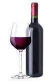 Een reeks van rode wijn Royalty-vrije Stock Foto's
