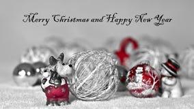 Een geanimeerde geboorte van Christusscène, allen op het werk voor Kerstmis Stock Afbeelding