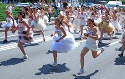 Een gebeurtenis 'van het Huwelijksras' Royalty-vrije Stock Foto