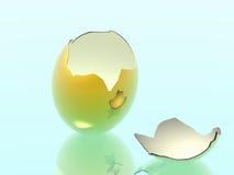 Een geboorte van het nieuw leven. vector illustratie
