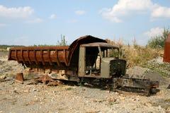 Een gebroken kipwagen Royalty-vrije Stock Afbeeldingen