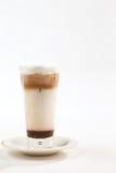 Een gekoelde of bevroren koffie is een koele de zomerdrank Royalty-vrije Stock Foto's