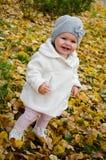 Een gelukkig meisje Royalty-vrije Stock Afbeeldingen