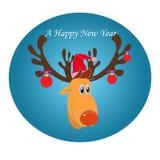 Een Gelukkig Nieuwjaar Royalty-vrije Stock Afbeelding