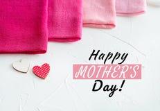 Een Gelukkige Kaart van de Moeder` s Dag Royalty-vrije Stock Foto's