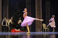 Een gelukkige prinses Clara-The Ballet Nutcracker stock fotografie