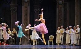 Een gelukkige prinses Clara-The Ballet Nutcracker stock foto's