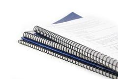 Een generisch handboek Stock Foto
