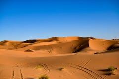 Een generische mening van de woestijn van de Sahara Stock Foto's