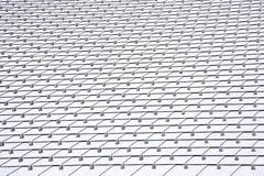 Een geometrisch dak Stock Foto's