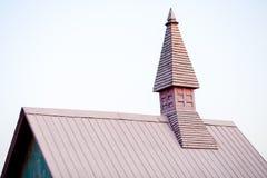 Een gericht dak stock fotografie