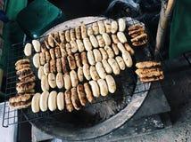 Een Geroosterde Banaan Stock Foto