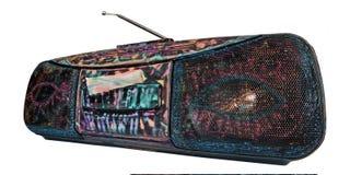 Een geschilderde grungy gettozandstraler, Stock Afbeelding