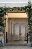 Een gesloten poort Royalty-vrije Stock Foto's