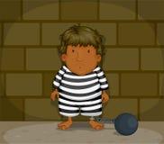 Een gevangene Stock Foto