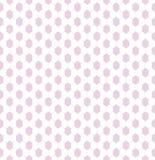 Een gevoelig naadloos patroon voor textielkant of netto in meisjesachtige roze en witte kleuren Royalty-vrije Stock Fotografie